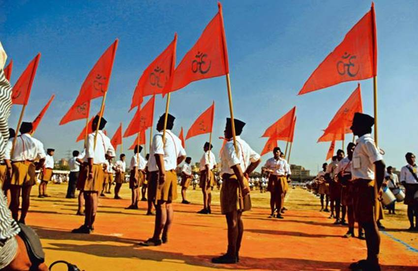 RSS, Kerala Minister, RSS temples arms, Kerala news, Kadakampally Surendran