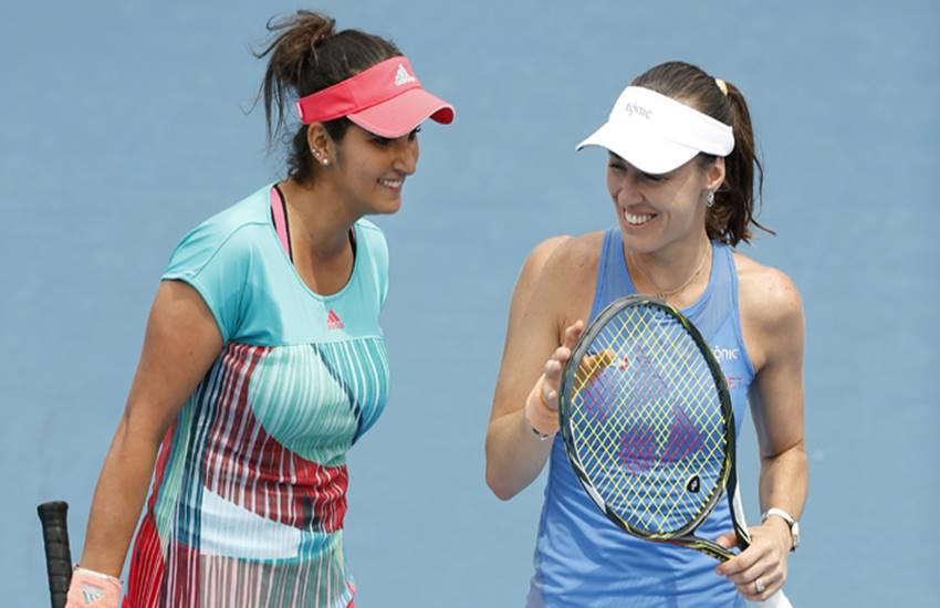 madrid masters, Sania Mirza, Martina Hingis