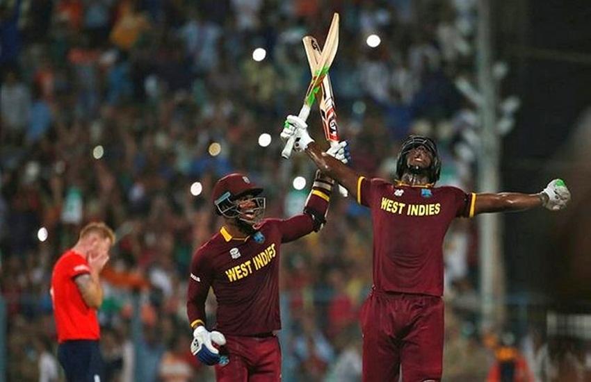 west indies, west indies cricket, england, world t20, t20 world cup, west indies england, england cricket, icc world cup, west indies win three world cup, वेस्ट इंडीज, इंग्लैंड, टी20 वर्ल्ड कप