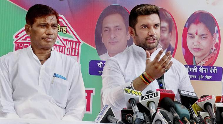 Chirag paswan, quota, give up quota, dalit Reservation, mayawati, Dalits, Bihar, Chirag Paswan, Lok Janshakti Party, Bihar