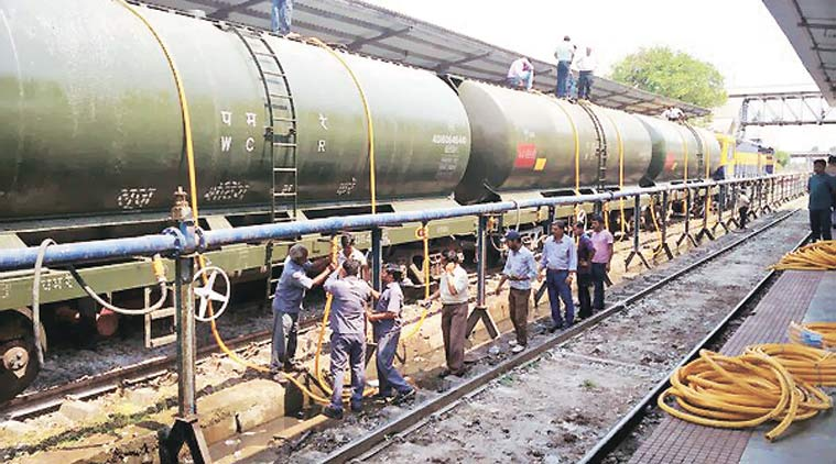 water train, latur water crisis, water crisis maharashtra, water train from sangli, water supply from sangli to latur, water supply to latur, Drought crisis, India water train, Water Trains, maharashtra Drought