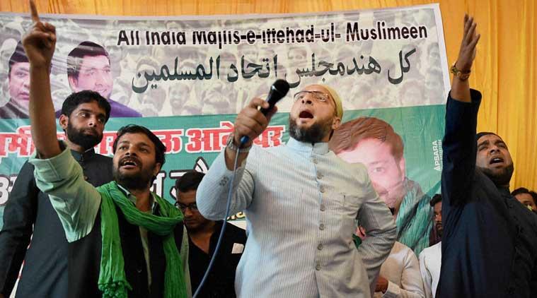 Asaduddin Owaisi, Samajwadi Party, Azamgarh, Azam Khan, Owaisi in UP, UP elections, bharat mata ki jai