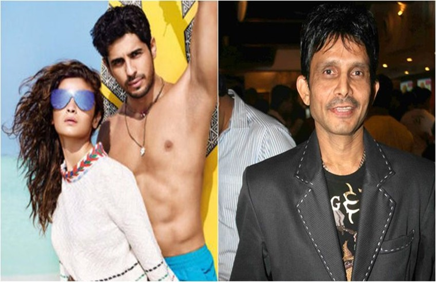 Sidharth Malhotra, Sidharth Malhotra Alia Bhatt, Sidharth Malhotra KRK, Sidharth Malhotra KRK Row, KRK, Alia Bhatt, Bollywood