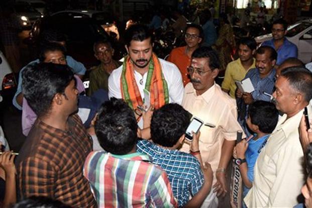 "Kerala assembly polls, S Sreesanth, Sreesanth declares assets, BJP"""