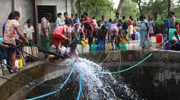 jansatta, chaupal, water crisis, india, rain water