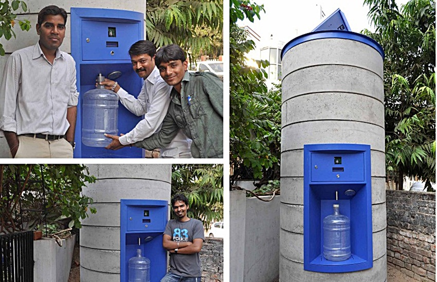 Water ATM, dream away, not corporation, opened Piaui found, county news, water problem