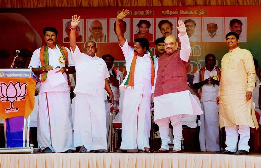 Tamil nadu Assembly Polls, Tamil nadu Polls, Amit Shah, DMK, AIADMK, Congress, Tamil nadu