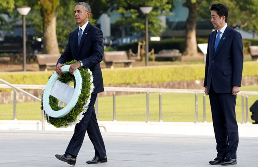Barack Obama, Barack Obama Visit Hiroshima, Obama Visit Hiroshima, Obama Shinzo Abe, Obama Shinzo Hirishima, Obama Nuclear Blast Hiroshima