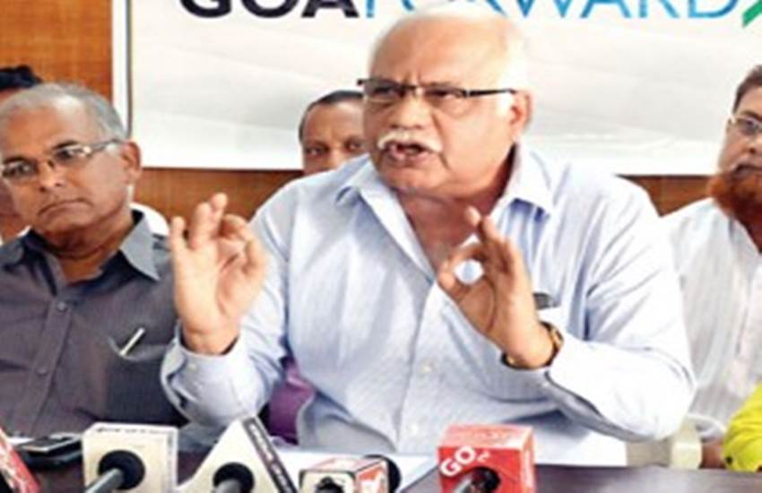 prabhakar timblo, goa forward, politics