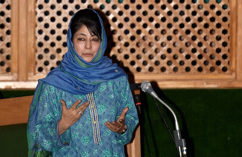 bjp, mehbooba government, change policies, secessionists