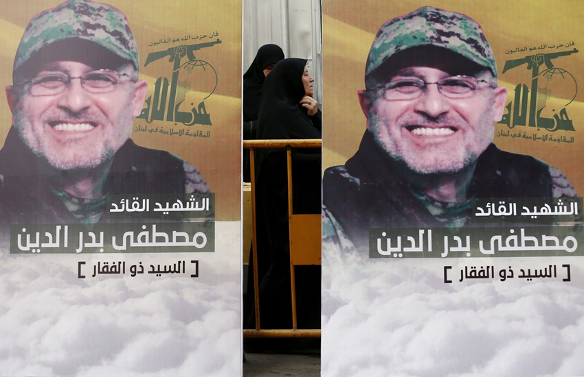 Islamic extremist, hezbollah, hezbollah top military leader, mustafa badreddine, Syria