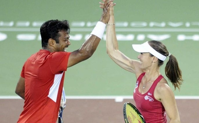French Open,Leander Paes,Martina Hingis