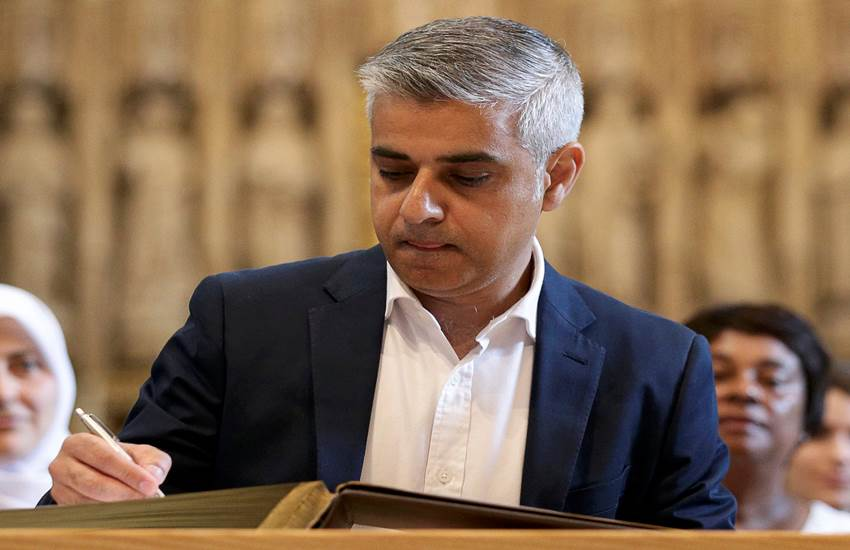 Sadiq Khan,Donald Trump,UK news,Politics,US news,World news