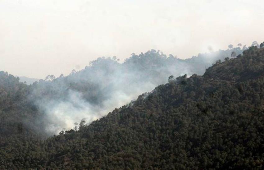 Fogg, Uttarakhand Fire, UK Fire, MI-17, Helicopter, Blaze, Jungle Fire, Fog problem