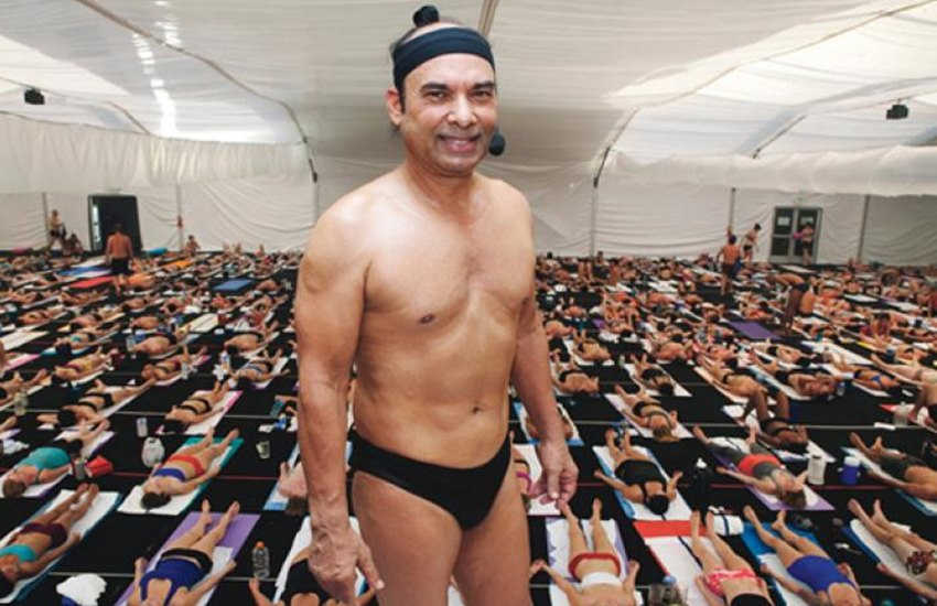 bikram choudhury, bikram yoga, hot yoga