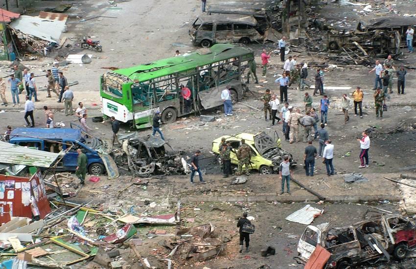 Syria, Bomb blast, blast in syria, attack, ISIS