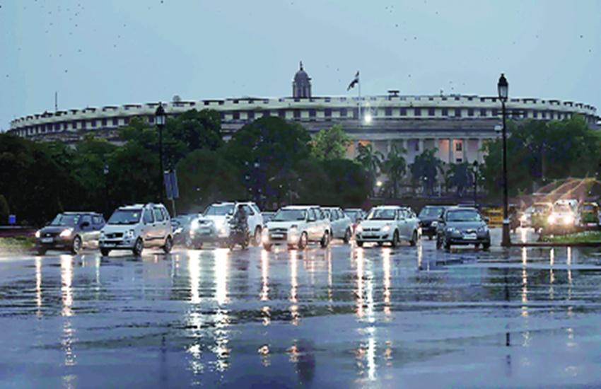 New Delhi, Noida, rain, weather