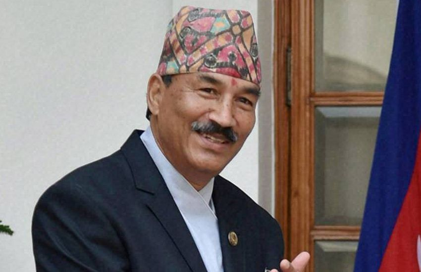 nepal foreign affairs minister, kamal thapa, fluctuation free terms, india-nepal