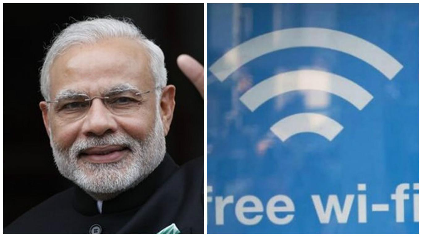 free wifi,railway staion, patna, ranchi, visakhapatnam, modi government