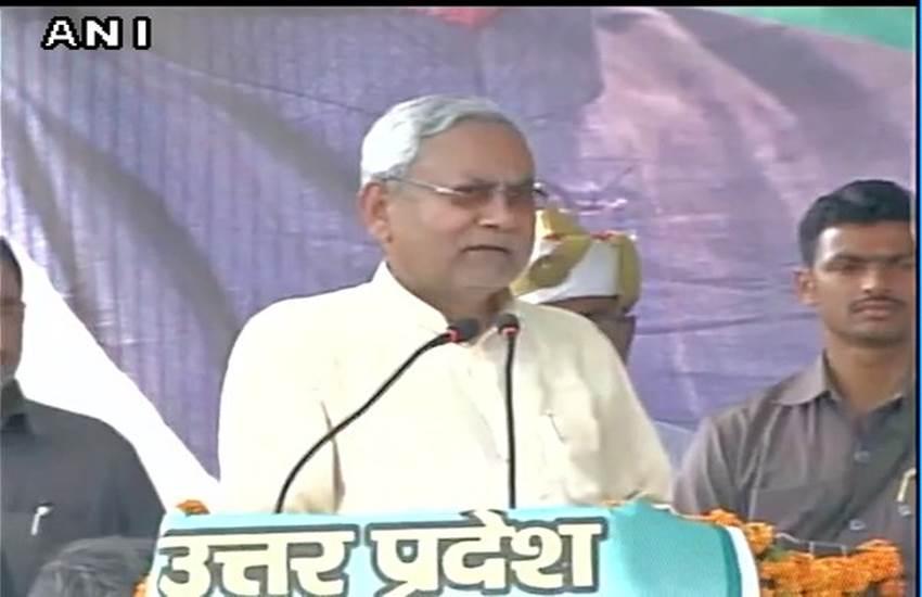 nitish kumar, nitish kumar varanasi rally, nitish kumar latest news, varanasi. UP elections 2017, JDU, JDU news, Uttar pradesh news