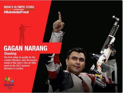 rio olympic, goodwill brand ambassador salman khan, players who are represent india in olympic, olypic 2016, abinav bindra, gagan narang, sports news