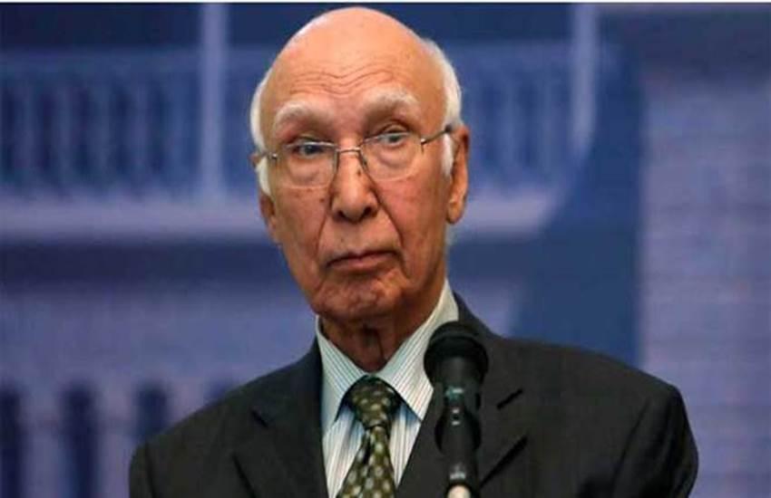 Pakistan Sartaj Aziz, Sartaj Aziz News, Sartaj Aziz latest News, Sartaj Aziz SAARC, Sartaj Aziz Hindi news