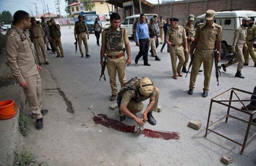 Srinagar, Srinagar shooting, J&K shooting, terrorists, srinagar terrorists, srinagar militants, militants, militants killed, Srinagar militants, militants, india news