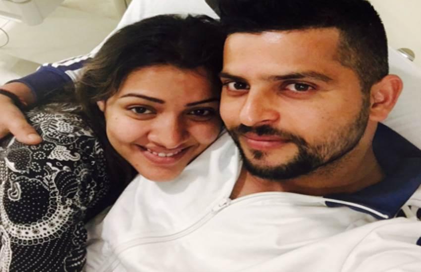 Suresh Raina, Welcome Baby Shreyanshi Raina, Raina daughter, IPL, cricket, cricket news, ipl, suresh raina, Gujarat Lions