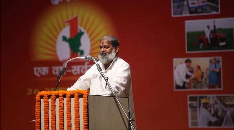 Anil Vij, Haryana, Jat, News Tracker, Prakash Singh committee report, jat voilence , reservation protest, hariyana jat reservation