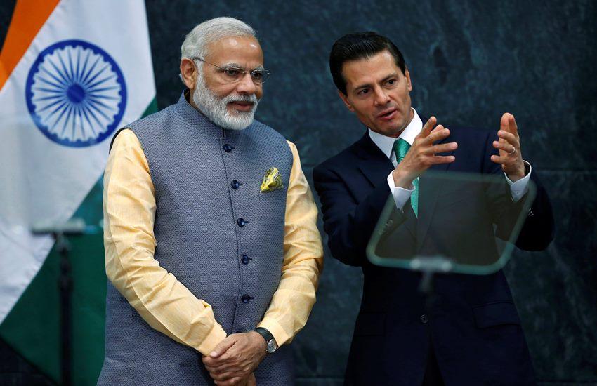 India NSG Membership, Mexico NSG India, India Mexico NSG, India NSG Mexico, Mexico President Enrique Pena Nieto, Narendra Modi, Modi meet Nieto