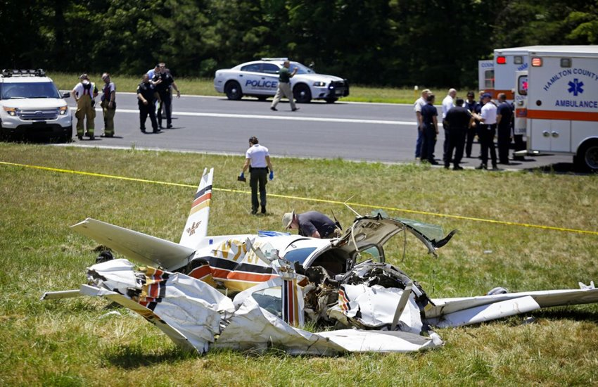 US Plane Crash, Tennessee Plane Crash, Plane Crash us, United States