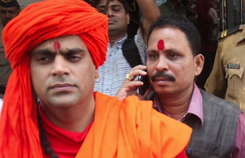 Swami Chakrapani, Hindu Mahasabha, Z-category security, Hindu Mahasabha chief, Hindu Mahasabha Swami Chakrapani, Swami Chakrapani threats, Swami Chakrapani news, Swami Chakrapani hindi news, jansatta
