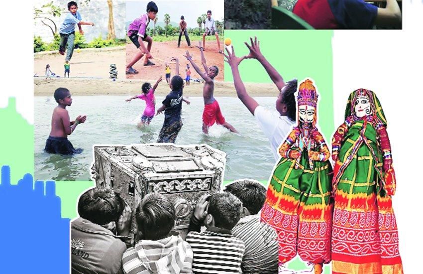 kids, playground, health, smartphones, technology. future, naaz khan column, jansatta raviravi