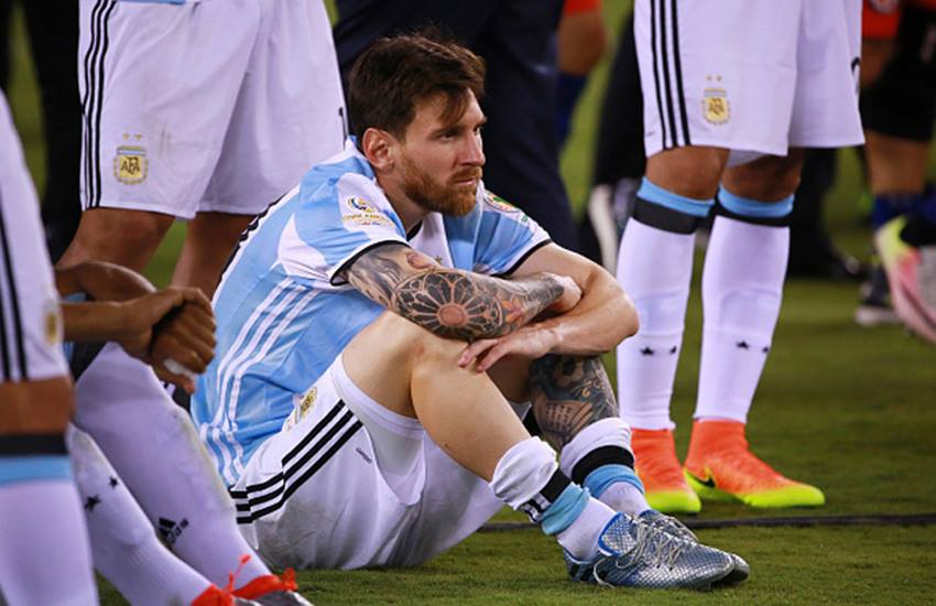 lionel messi, lionel messi retirement, Lionel Messi Argentina, Argentina Messi, lionel messi retirement news, messi retirement news, Copa America 2016, Copa America 2016 news, Argentina, Argentina skipper Lionel Messi, lionel messi football, football news, Football, Sports News