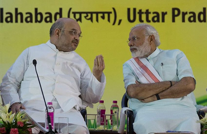 Amit Shah, UP Elections, Uttar Pradesh Elections 2017, Narendra Modi, Rajnath Singh, Hukum Singh, Varanasi MP, BJP, BJP plan of UP, BJP in UP, Politics, India News, Jansatta