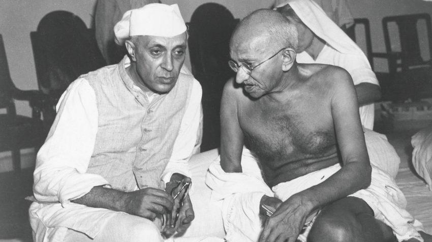 pandit nehru and gandhi, jansatta opinion, jansatta chaupal