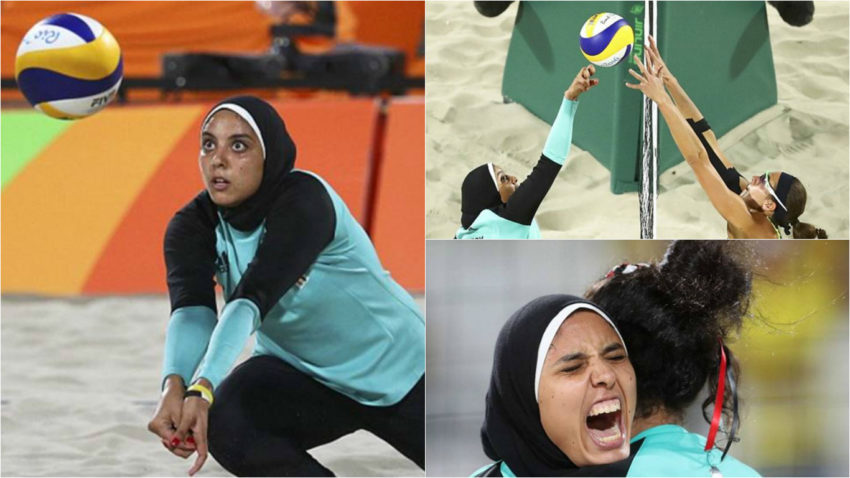 rio Olympics 2016, volleyball, Egypt team