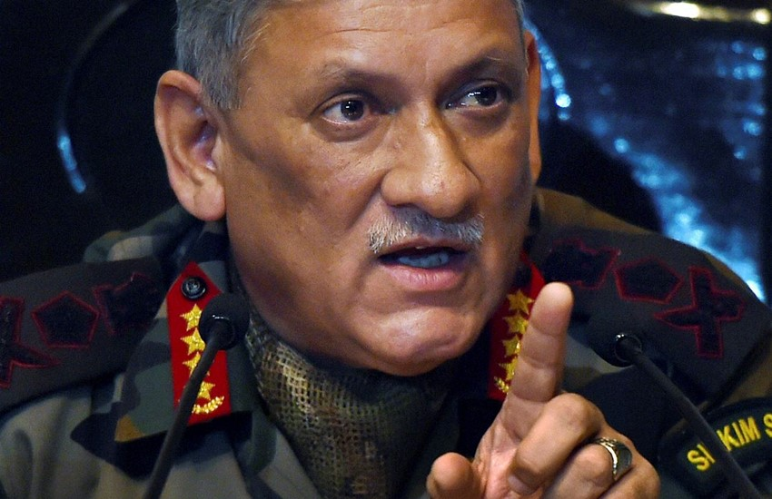 Bipin Rawat, Bipin Rawat says, Bipin Rawat statement, Bipin Rawat on doklam, Bipin Rawat comments, Army Chief, Army Chief at doklam, Army Chief Bipin Rawat, Doklam Border With China, All is Well, All is Well at Doklam, National news