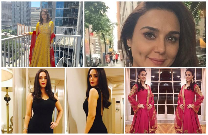 Preity Zinta, Shahrukh Khan, Aishwarya Rai