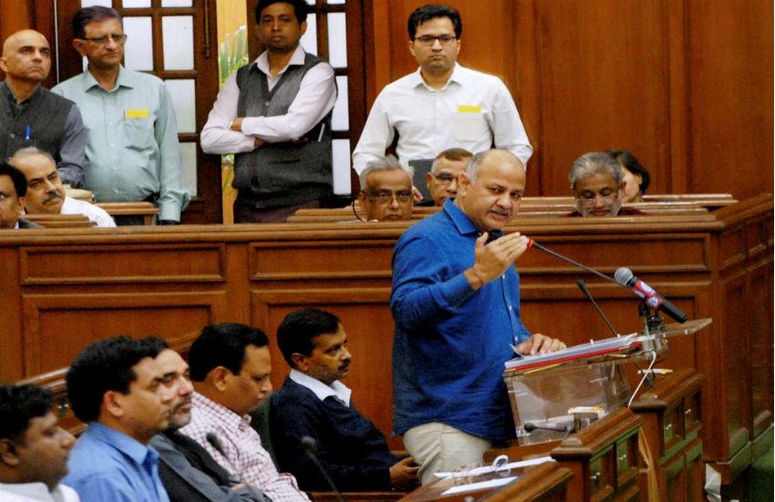 दिल्ली बजट 2017-18: 'आप' सरकार ने दिल्ली के लिए पेश किया ₹48000 करोड़ का बजट, स्वास्थ्य-शिक्षा पर ज़ोर, कोई नया टैक्सनहीं