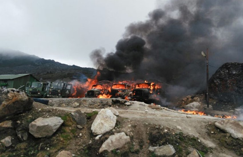 Chinese Rocket Attack, Pakistan