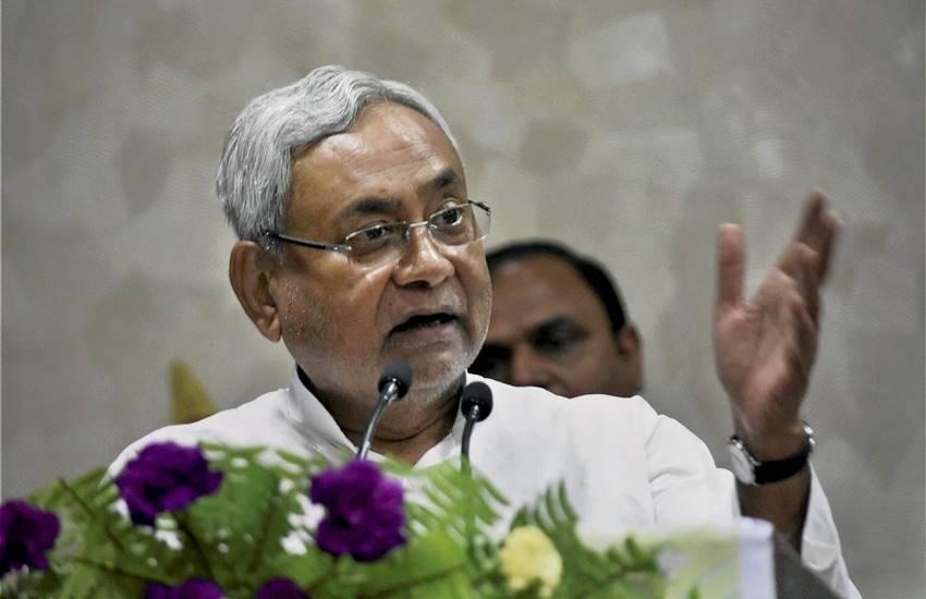 Nitish Kumar, Bihar Chief Minister, Patna Press Conference