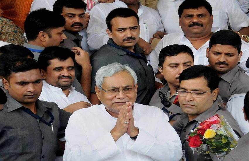 Nitish Kumar, Trust vote, Nitish Kumar in Bihar Assembly, Nitish Kumar, Tejashwi Yadav, Bihar chief Minister, Namaj, Bihar news, Hindi news, Jansatta