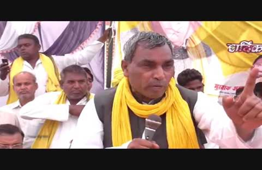 Gabbar, Om Prakash Rajbhar, UP Cabinet, Om Prakash Rajbhar Minister, Yogi Adityanath, Om Prakash Rajbhar Video, Om Prakash Rajbhar Viral Video, Om Prakash Rajbhar Gabbar, Uttar pradesh news, hindi news