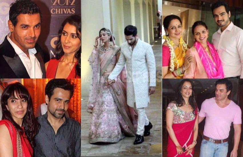 हिंदी सिनेमा के इतिहास में ऐसे कई सितारे हैं जिन्होंने आपस में शादी करने का फैसला किया। वहीं बॉलीवुड में ऐसे सितारे भी हैं जिन्होंने इंडस्ट्री में अपना लाइफ पार्टन न ढूंढकर आउटसाइडर को अपना जीवन साथी बनाया। आइए जानते हैं बॉलीवुड में ऐसे कौन से सितारे हैं जिन्होंने किसी स्टार को नहीं बल्कि ऐसे चेहरे को अपना हमसफर चुना जिनका ग्लैमर की दुनिया से कोई वास्ता नहीं रहा है।