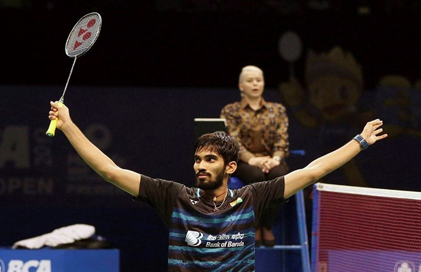 Kidambi Srikanth, French Open, French Open 2017, Kidambi Srikanth Wins, Kidambi Srikanth Wins French Open, Denmark Open, Badminton, Badminton news, Sport news