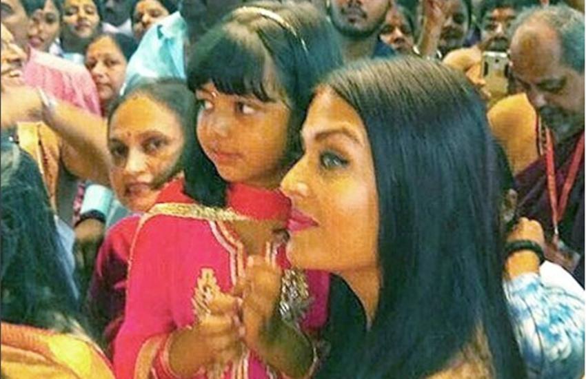 Aishwarya Rai Bachchan, Aaradhya, Ganpati Bappa, Aishwarya Rai Bachchan and Abhishek Bachchan, Aishwarya Rai Bachchan and Aaradhya, HD Photos, HD Pics, Images