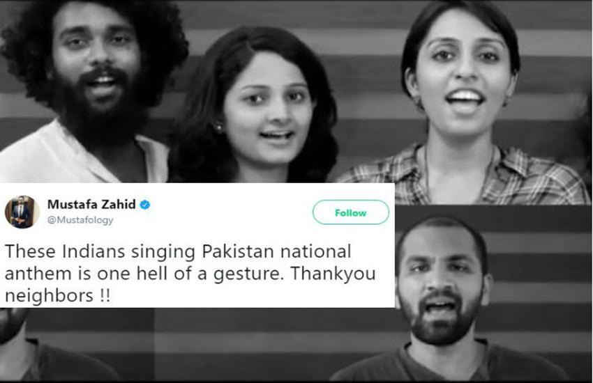 Pakistani national anthem, Pakistan Independence day, Indians sing Pakistani national anthem, Independence Day, indian Independence Day, Independence Day wagah border, Independence Day video, india pakistan, Hindi news