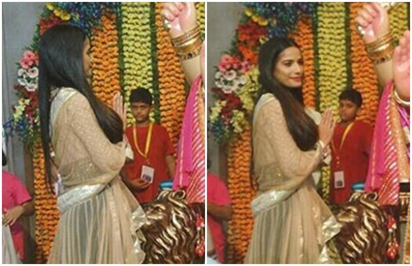 Poonam Pandey, Lord Ganesha, Social Media, Erupted, Full Clothes, Poonam Pandey in Full Clothes, Poonam Pandey Hot Photos, Poonam Pandey Pictures, Poonam Pandey HD Pics