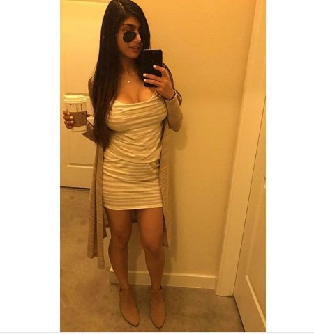 Former porn star Mia Khalifa, ISIS threatened porn star Mia Khalifa, ISIS threatened behead mia khalifa, Daily Mail mail report, radio interview with The Sports Junkies, You can't show weakness""